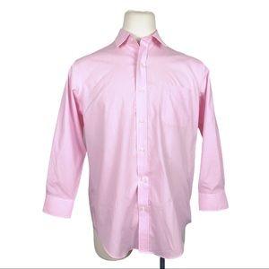 Buttoned Down Pink Men's Classic Button Down Shirt